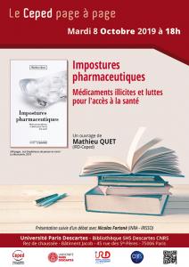 ÉVÈNEMENT | 8/10/19 - le Ceped page à page - Impostures pharmaceutiques