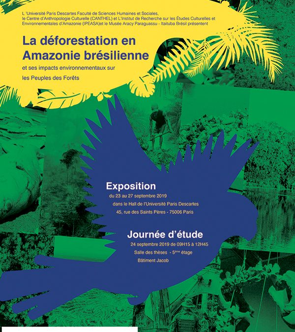 Journée d'étude  |  La déforestation en  Amazonie brésilienne et ses impacts environnementaux sur  les Peuples des Forêts