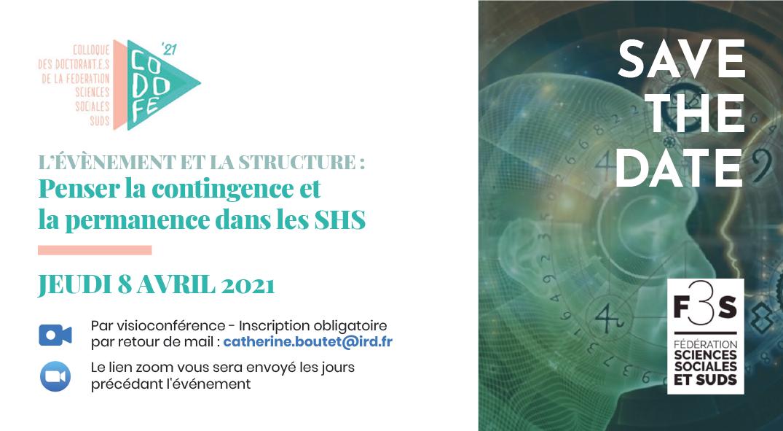 CODOFE – 8 avril 2021 – L'évènement et la structure : Penser la contingence et la permanence dans les SHS