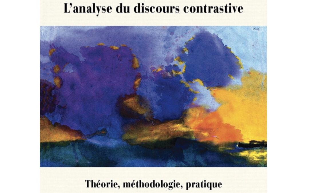 Avis de publication – L'analyse du discours contrastive – P. von Münchow