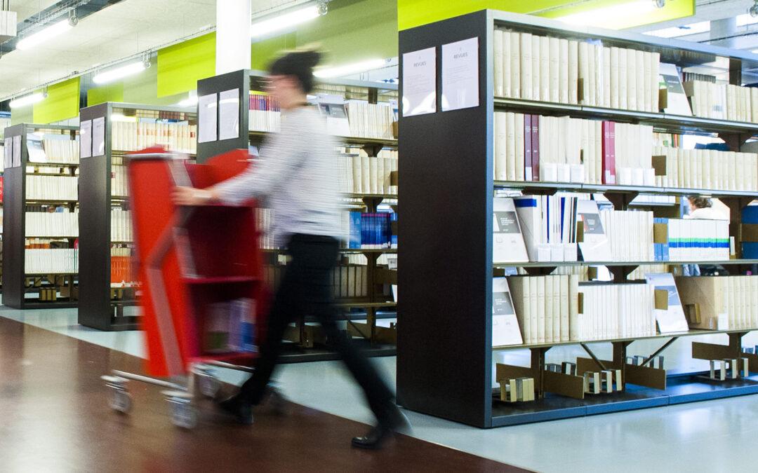 Les bibliothèques recrutent des étudiant.e.s pour l'année universitaire 2021-2022